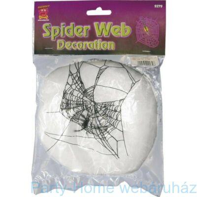 Pókháló fehér 1 db Pókkal