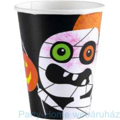 Happy Halloween Monster pohár - 266 ml, 8 db-os