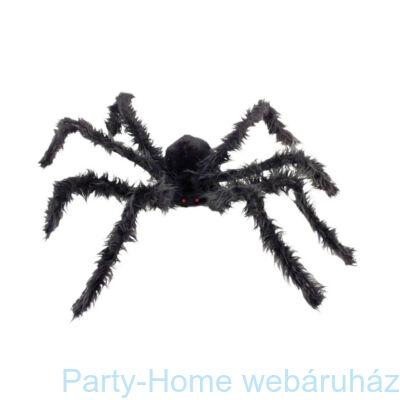 Hatalmas Szőrös Pók Világító Szemekkel - 100 cm