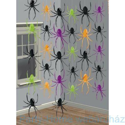 Pókos Függő Dekoráció