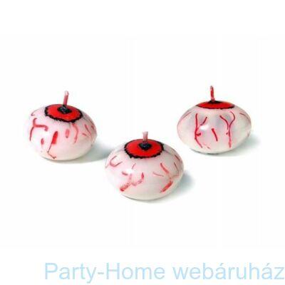 Véres Szem Úszógyertya Halloweenre