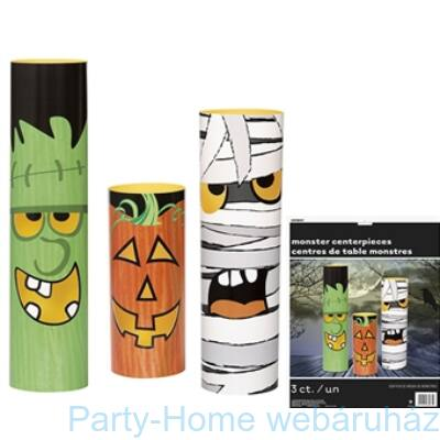 Halloween Szörnyes-asztaldísz
