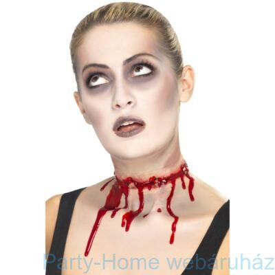 Véres Nyakvágás Latex Sebhely