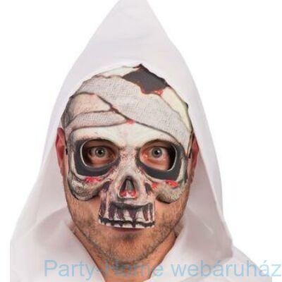 Csontváz Múmia Maszk