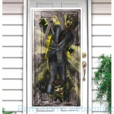 Zombi Zombie Parti Ajtódekoráció Halloweenre