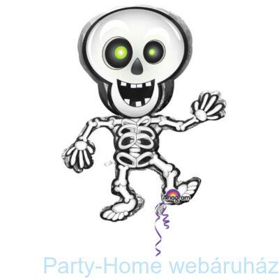Dancing Skeleton - Táncoló Csontváz Super Shape Fólia Lufi