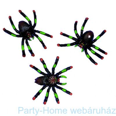 Dekorációs Pókok Halloweenre,