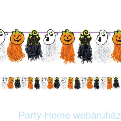 Halloween Figurák Rojtos Füzér - 240 cm-es
