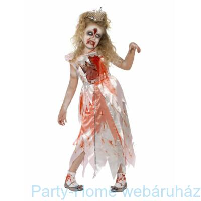 Zombie Sleeping Princess - Zombie Hercegnő Gyerek Costume M-es méret