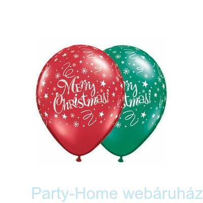 Christmas! Festive Emerald Green & Ruby Red Lufi