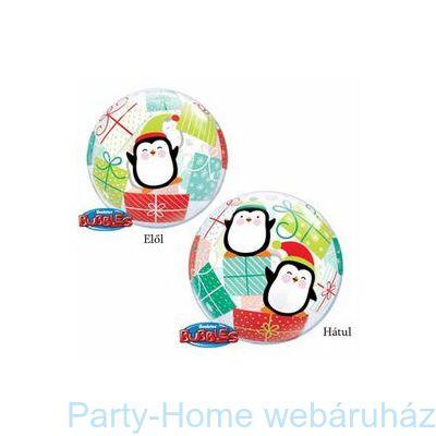Penguins & Presents Karácsonyi Bubble Lufi