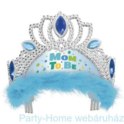 Kék Mom To Be - Kismama Parti Tiara
