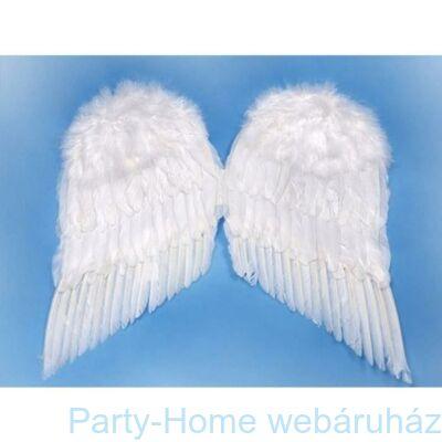 Fehér Toll Angyalszárny - 55 cm x 45 cm