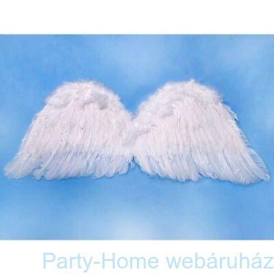 Fehér Toll Angyalszárny - 80 cm x 30 cm