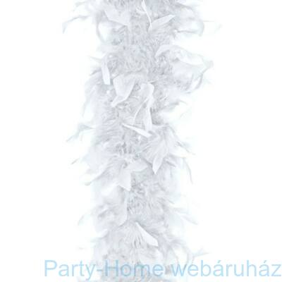 Fehér Toll Boa - 180 cm