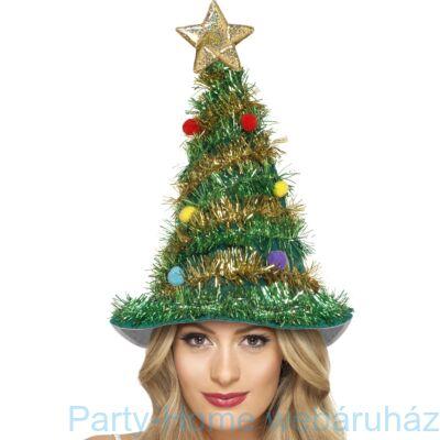 Karácsonyfa Sapka