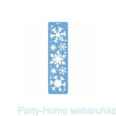 Hópehely Mintás Dekoráló Sablon