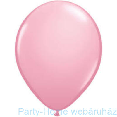 16 inch-es Pink (Standard) Kerek Lufi 1 db