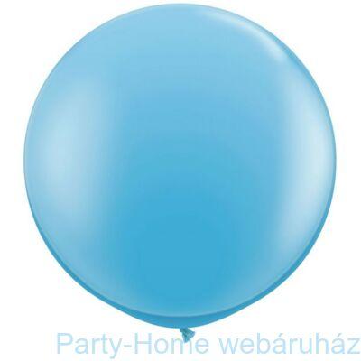 3 feet-es Pale Blue (Standard) Kerek Latex Lufi 1 db