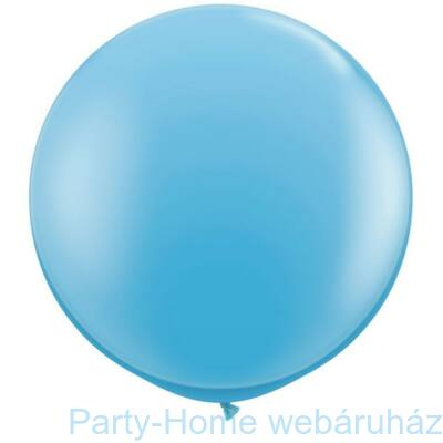 3 feet-es Pale Blue (Standard) Kerek Latex Lufi 1 db