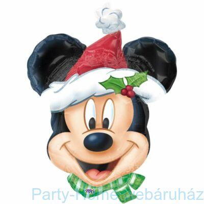 Mickey Mouse Christmas Super Shape Fólia Lufi