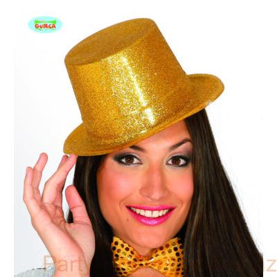 Glitteres Arany Parti Kalap