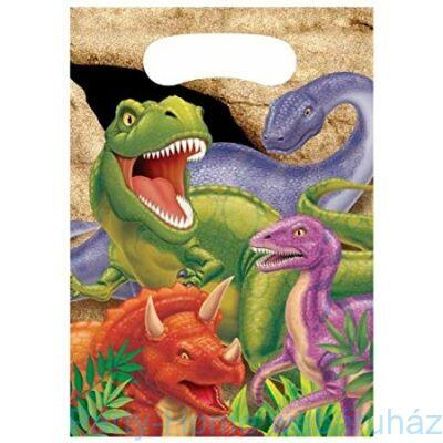 Dinoszaurusz Parti Ajándékzacskó - 8 db-os