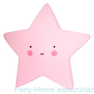 Mini Csillag Lámpa - Rózsaszín