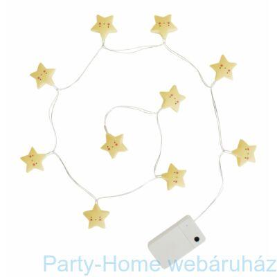 LED Fényfüzér Pasztel Csillag