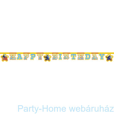 Némo Finding Dory Szenilla Nyomában Parti Happy Birthday Füzér